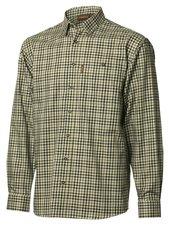 Milford Skjorta - Härkila - Black/Olive check